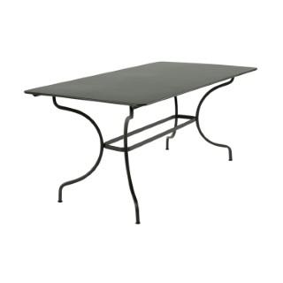 Table Manosque Fermob en acier coloris romarin 417620