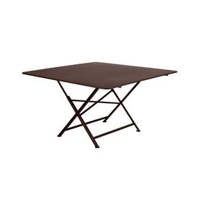 Table de jardin Cargo FERMOB Rouille L128xl128xh74 417635