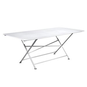 Table de jardin Cargo FERMOB Blanc coton L190xl90xh74 417678