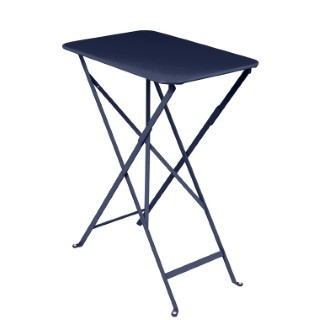 Table pliante Bistro Bleu abysse 417764