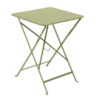 Table carrée pliante Bistro Tilleul 417772