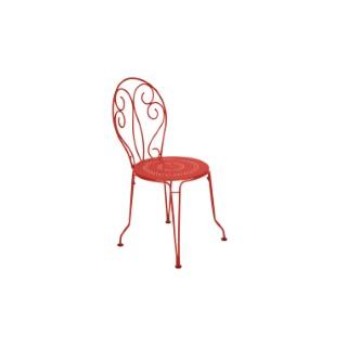 Chaise de jardin Montmartre Fermob couleur Capucine 417787