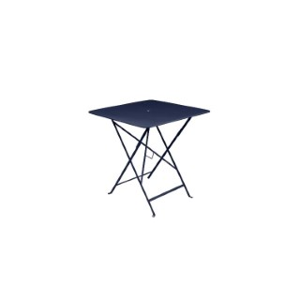 Table pliante Bistro Bleu abysse 71X71X74 cm 417985