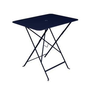 Table pliante Bistro Blau abysse 77X57X74 cm 417990