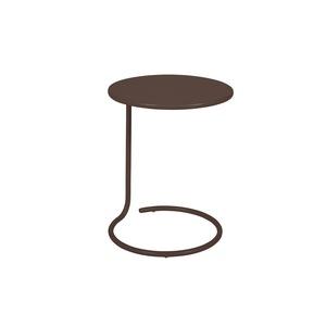Table basse déportée coolside rouille de Ø 42 x 53 cm 418106