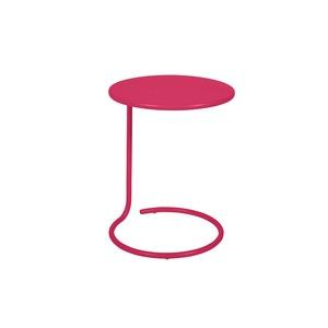 Table basse déportée coolside rose praline de Ø 42 x 53 cm 418119