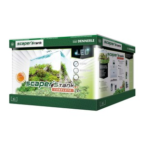 Nano aquarium scapers tank basic de 35 L avec LED 418247