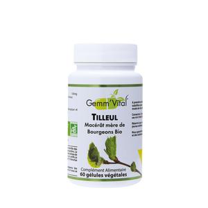L'extrait de bourgeon de tilleul bio en boite de 60 gélules 418464