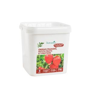 Engrais fraisiers, petits fruits & arbres fruitiers 3 kg botanic® 418579