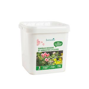 Engrais rosiers et arbustes à fleurs 3 kg botanic® 418608