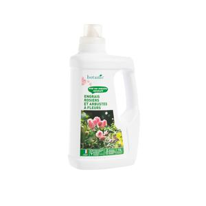 Engrais rosiers et arbustes à fleurs 1L botanic® 418609