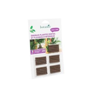 Engrais plantes vertes et fleuries botanic® en bâtonnets 418632