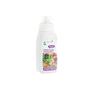 Engrais cactées plantes grasses et succulentes 250 ml botanic® 418633