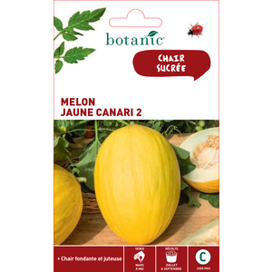 Graines de Melon jaune canari en sachet 419340