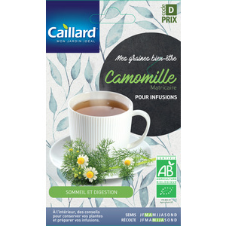 Graines de Camomille matricaire bio en sachet 419358