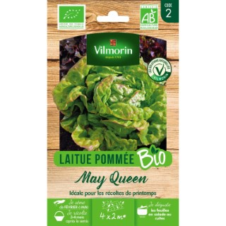 Graines de Laitue May Queen bio en sachet 419393