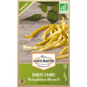 Graines de Haricot rame Neckargold beurre bio en sachet 419548