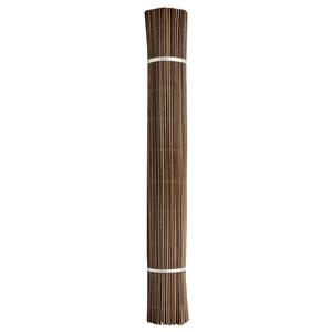 Canisse synthétique Fency Wick marron imitation osier 300x150 cm 419681