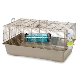 Cage Ruffy 2 Gris 80x50x38 cm 425660