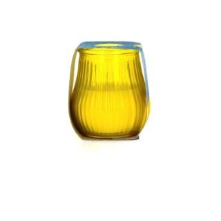 Bougie à la citronnelle anti moustiques dans un contenant en verre 426267