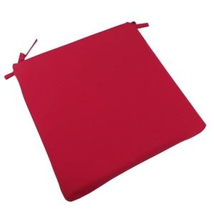 Assise de chaise Monte Carlo rouge Carmin en polyester 426422