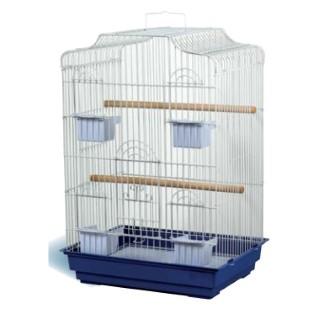 Cage oiseaux marron