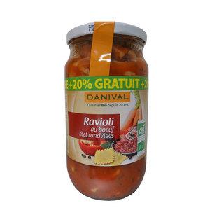 Raviolis Boeuf 670 G + 20% DANIVAL