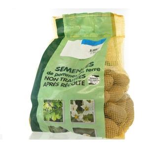 Pommes de terre Amandine calibre 25/32, 3 kg