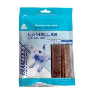 Lamelles x15 chiots et petits chiens Francodex 440030