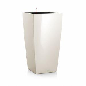 Pot à réserve d'eau Cubico Blanc L.30x30 x H.56 cm 441353