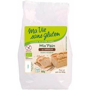 Préparation pour pain bio au sarrasin 500 g MA VIE SANS GLUTEN