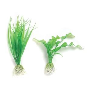 Décoration aquarium plantes vertes S x2 biOrb