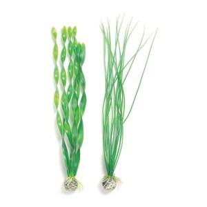 Décoration aquarium plantes vertes L x2 biOrb