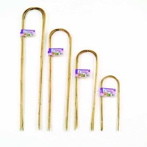 Tuteurs bambou cintrés x 3 – 90 cm