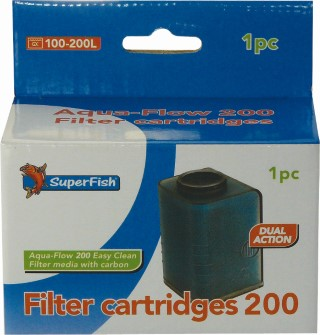Cartouche crystal clear 200  cartouche filtration