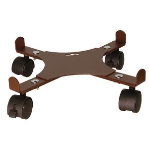 Support 4 roulettes extensible fer vieilli 34 à 51 cm 447135