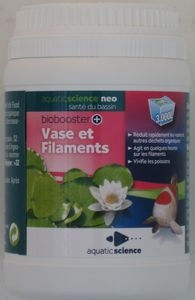 Traitement bassin contre vase et filament 180 gr