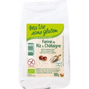 Farine de riz & chataigne 500 g MA VIE SANS GLUTEN