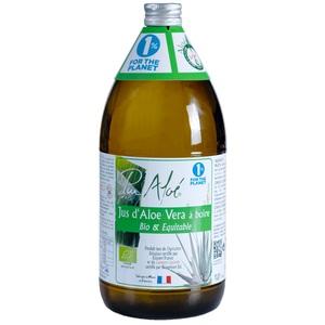 Jus à boire bio à l'aloe vera en bouteille de 1 L