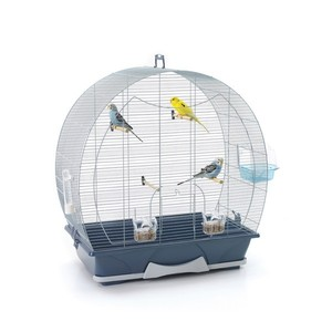 Cage oiseaux Evelyne 50 argent SAVIC
