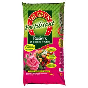 Fertilisant spécial rosiers