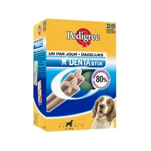 Friandise x28 chien moyen Pedigree dentastix 720g