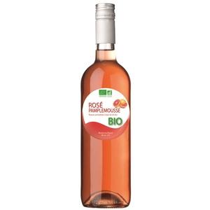 """Boisson arômatisée bio à base de vin """"rosé pamplemousse"""""""
