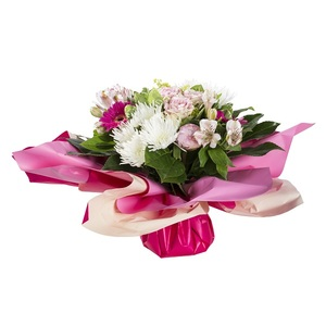 Bouquet bulle fleurs assorties 47212