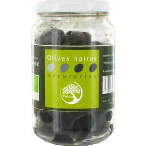 Olives noires naturelles bio PHILIA