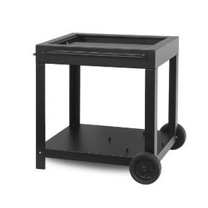 Chariot noir pour plancha exclusive Amalia ingénieuse 478772