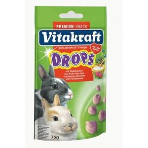 Drops lapins nains fruits des bois Vitakraft 75g