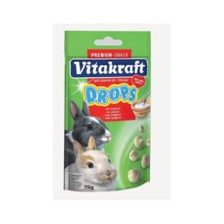 Drops yaourt lapins nains Vitakraft 75g