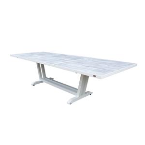 Table extensible Cimatella coloris blanc 200/300 x 105 x 75 cm 487306