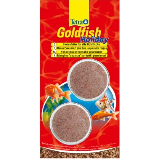 Tetra Goldfish Holiday 2 blocs x 12 g